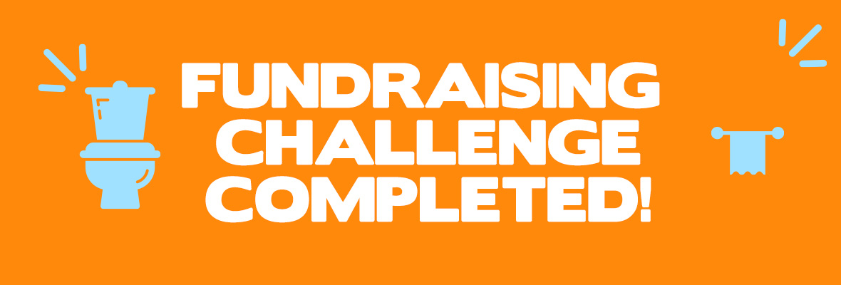 Toilets fundraising completed